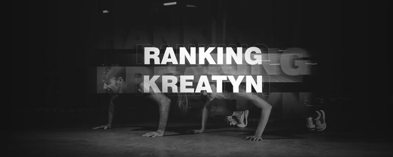 Ranking kreatyn 2019